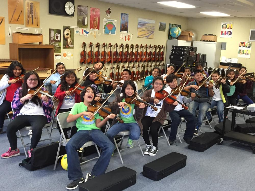 Whittier violin club