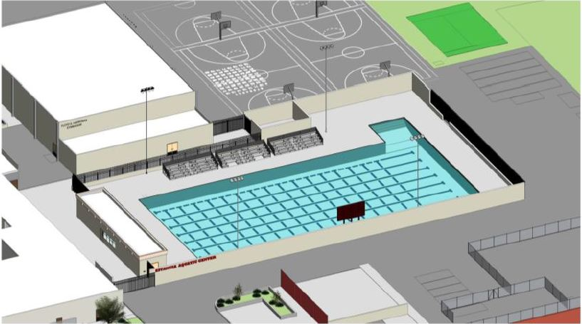 Estancia Pool Rendering