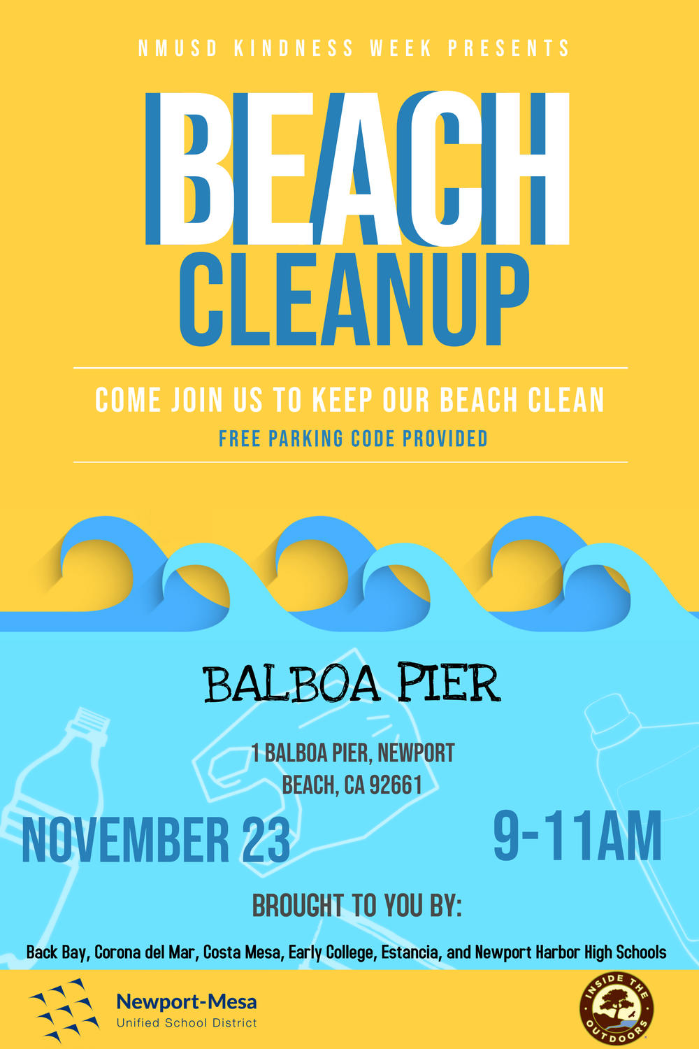 Beach Cleanup Flyer