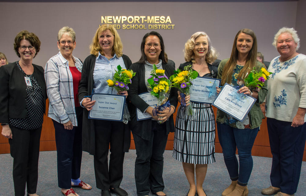 NMUSD Super Star Award Recipients