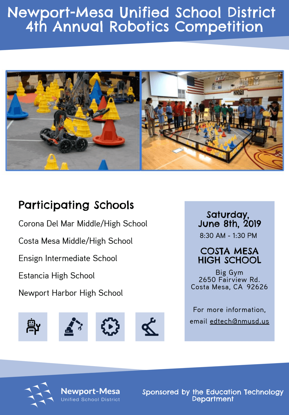 Robotics Competition Flyer