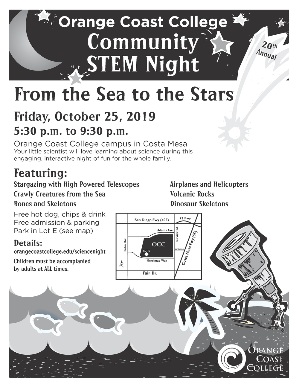 OCC STEM Night Flyer