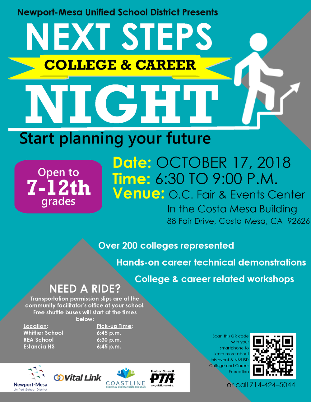 College and Career Night Flyer