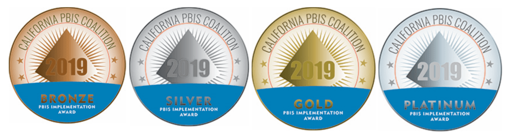 PBIS Implementation Award Logos