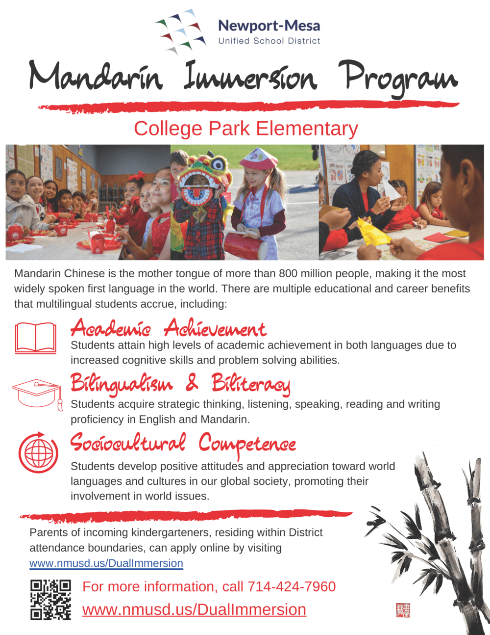 manderin dual immersion
