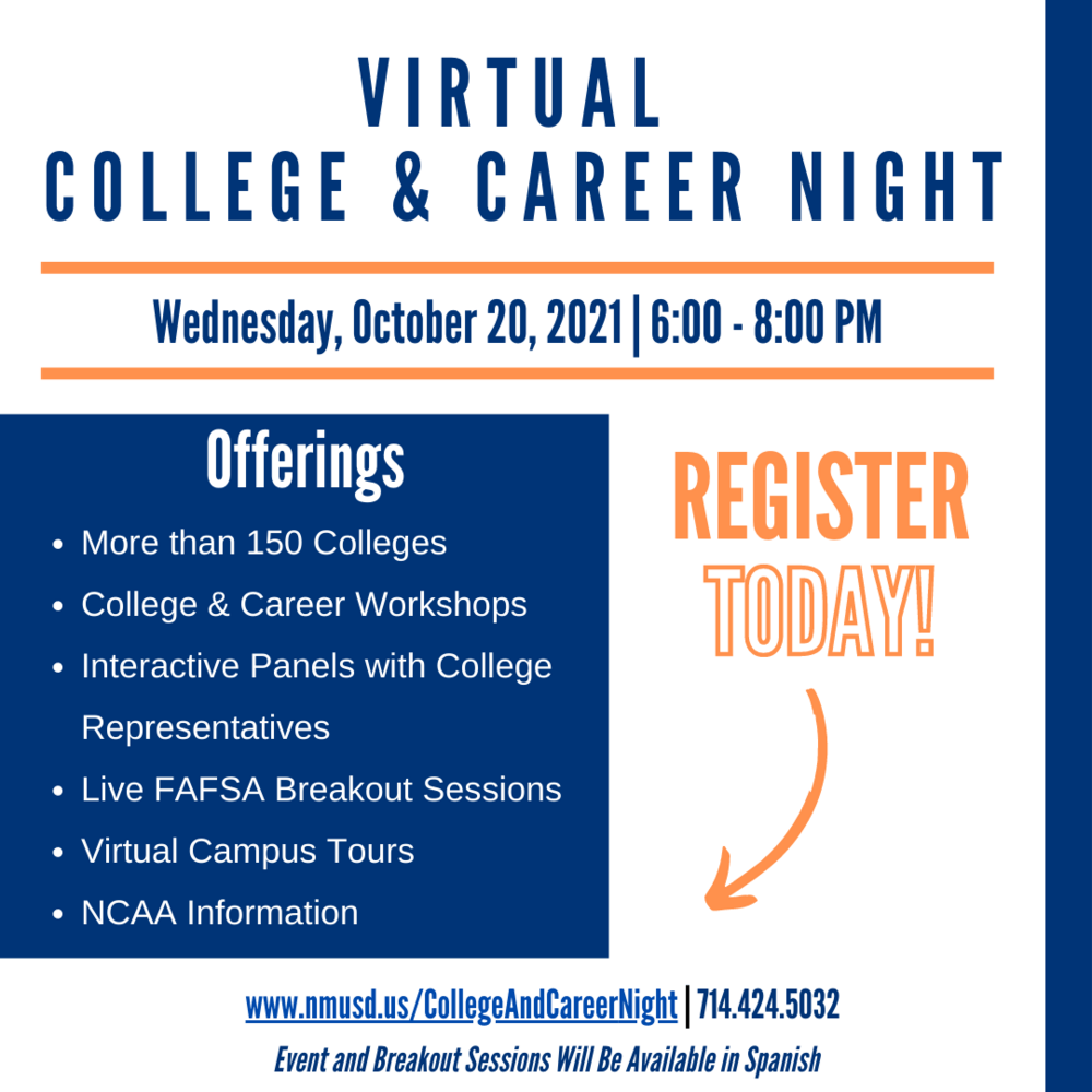 College and Career Invitation