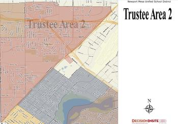Trustee Area Two Map