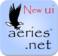 Aeries.Net New UI blue background