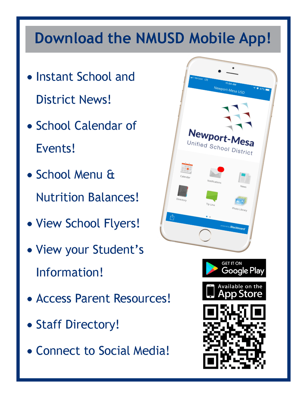 NMUSD Mobile Application